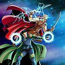 Sons of Asgard-battle by Studiokawaii