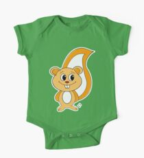 Rally Squirrel One Piece - Short Sleeve
