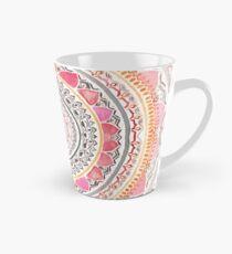 Pastell böhmische Mandala Tasse (konisch)
