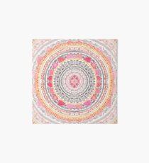 Pastel Bohemian Mandala Art Board