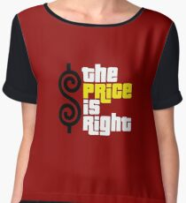 the price is right Chiffon Top