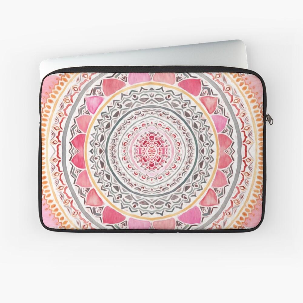 Pastel Bohemian Mandala Laptop Sleeve