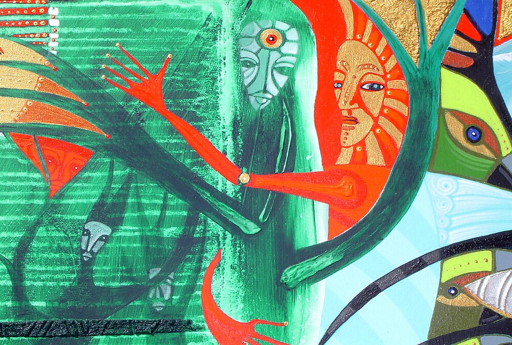 soul are hugs green tree by arteology