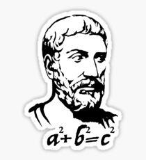 Pythagoras  Sticker