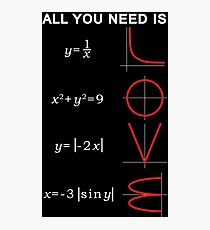 All you need is... Photographic Print