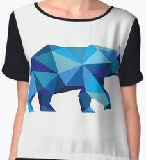 Bear Chiffon Top