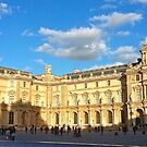 Evening Light at the Louvre by Alex Cassels