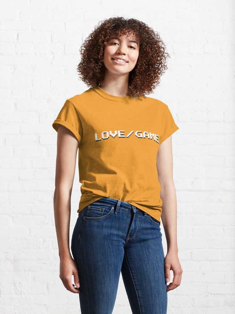 Alternate view of LOVE / GAME Classic T-Shirt