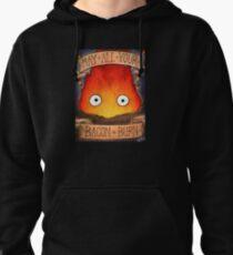 Studio Ghilbi Illustration: CALCIFER #3 Pullover Hoodie