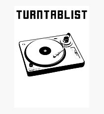 TURNTABLIST Photographic Print