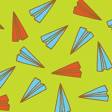Paper Planes pattern by evannave