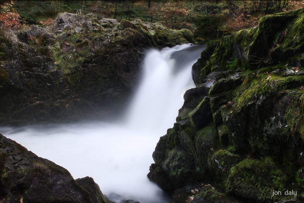 waterfall by jon  daly