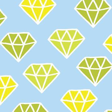 Diamonds pattern by evannave
