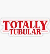Totally Tubular Stranger Things Inspired Sticker