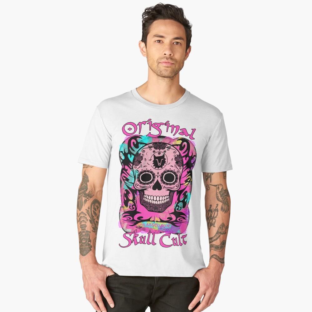 ORIGINAL SKULL CULT CRASSCO Männer Premium T-Shirt Front