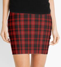 00040 Cunningham Clan/Family Tartan  Mini Skirt