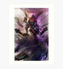 The Banshee Queen Sylvanas, Warcraft Fanart Art Print