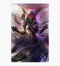 The Banshee Queen Sylvanas, Warcraft Fanart Photographic Print