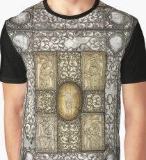 Mittelalterliche Gospelhülle in Silber & Elfenbein, 11. Jahrhundert Grafik T-Shirt