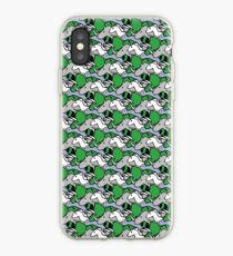 Horned Warrior Friends Muster (Einhorn, Narwal, Triceratops, Nashorn) iPhone-Hülle & Cover