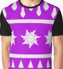 Sun Christmas Jumper Inspired Silhouette Graphic T-Shirt