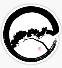Tree Enso Sticker