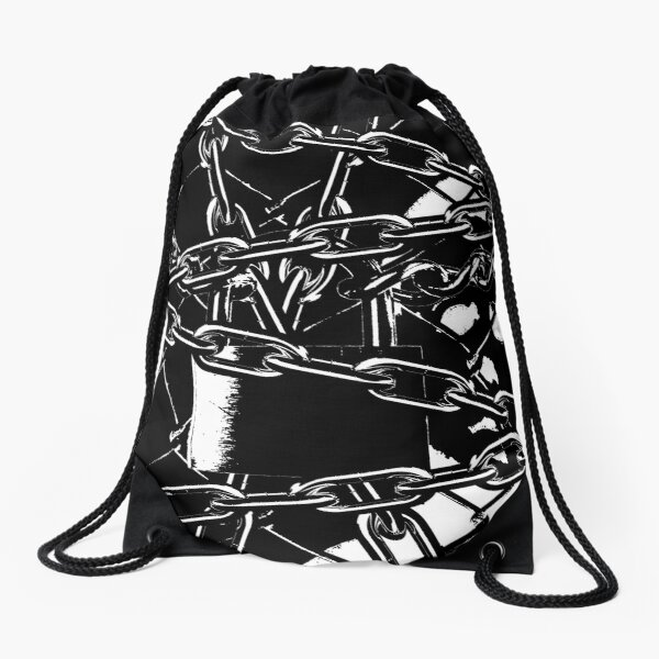 Chained Up Michael Myers Drawstring Bag