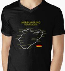 The Nurburgring Men's V-Neck T-Shirt