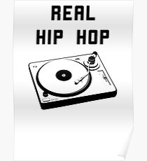 REAL HIP HOP Poster