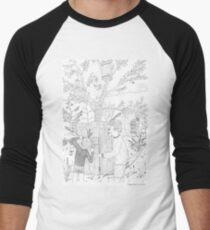 beegarden.works 006 Baseball ¾ Sleeve T-Shirt