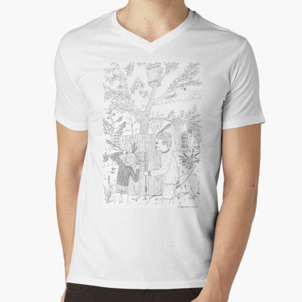 beegarden.works 006 V-Neck T-Shirt
