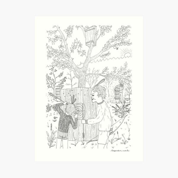 beegarden.works 006 Art Print