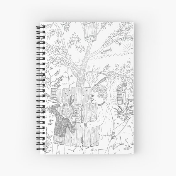 beegarden.works 006 Spiral Notebook