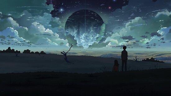 Makoto Shinkai Fantasy Planet By Cless