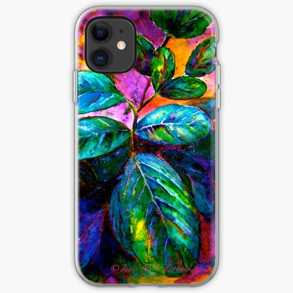 Tropical Fantasy.. iPhone Soft Case