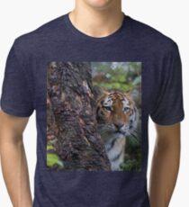 Amur Tiger Tri-blend T-Shirt