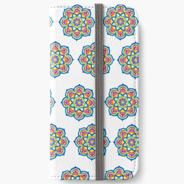 Sunshine Mandala iPhone Flip-Case