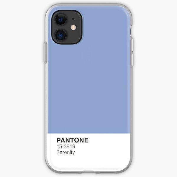Serenity Pantone Funda blanda para iPhone