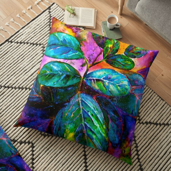 Tropical Fantasy.. Floor Pillow