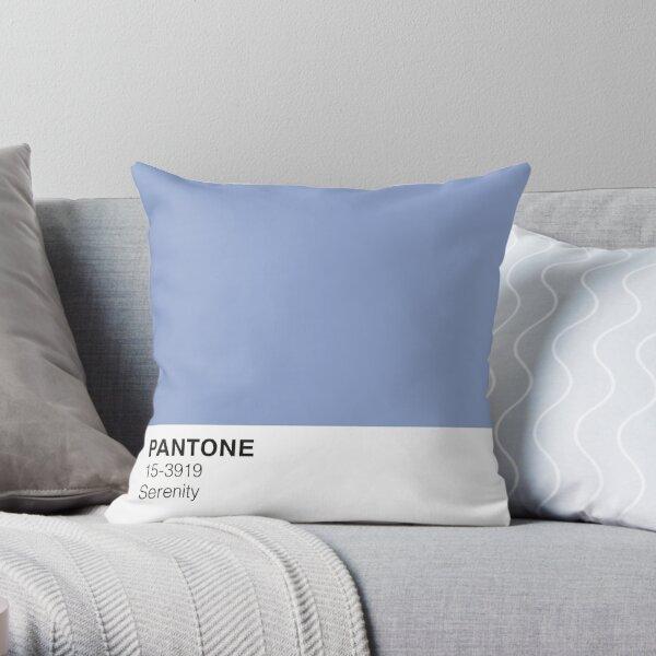 Serenity Pantone  Throw Pillow