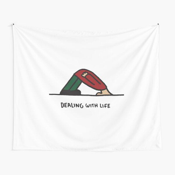 Dealing with life Tapestry