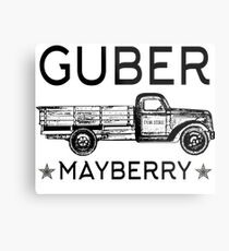 GUBER - The Southern Alternative - Mayberry! Metal Print