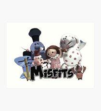 Misfit Toys Art Print