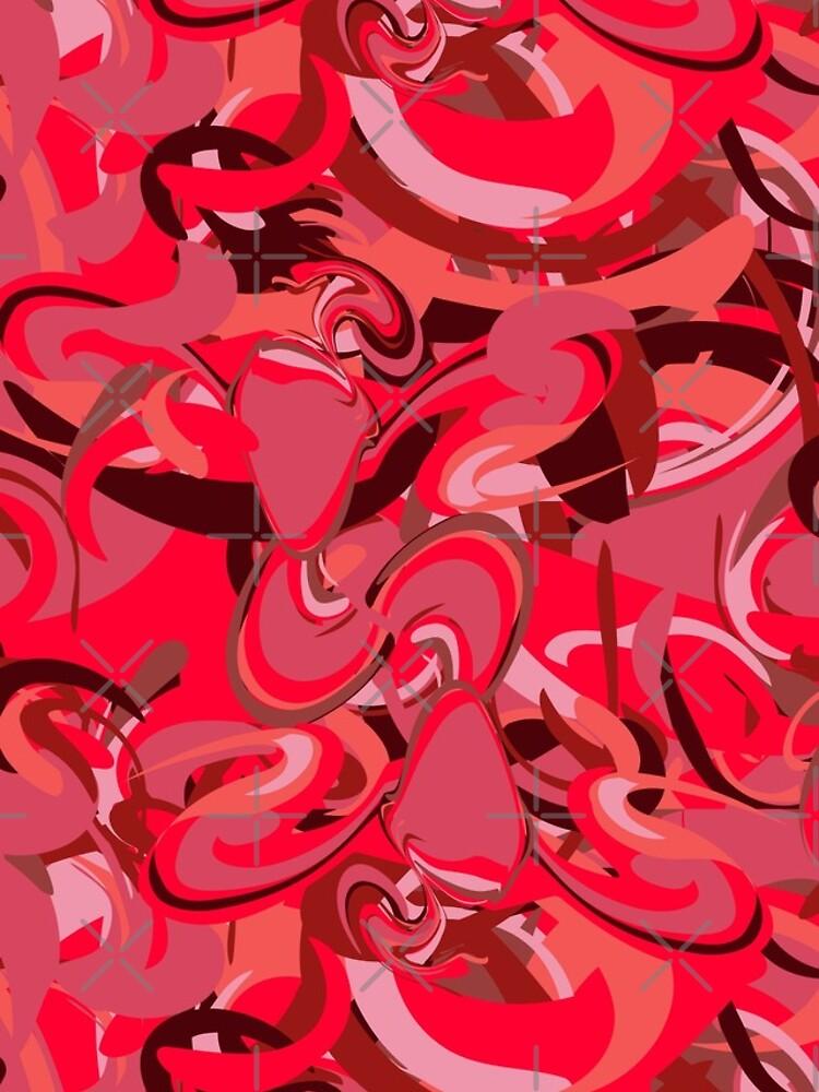 Red Daub - Twin Firebird Elemental by uniiunMB
