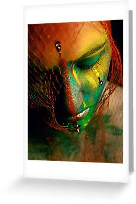 Rainbowface by PorcelainPoet