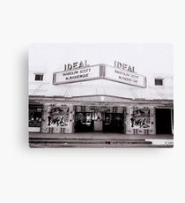 Ideal Theater ~ Now Showing... Canvas Print
