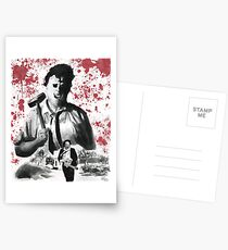 They Call Him Leatherface Postcards