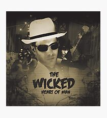 The Wicked Heart of Man Photographic Print