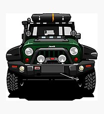 Jeep Wrangler Rubicon Off-road vehicle Photographic Print