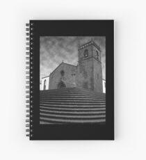 Portuguese church Spiral Notebook